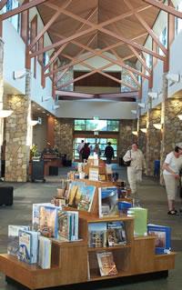 Interior of Livermore Public Library