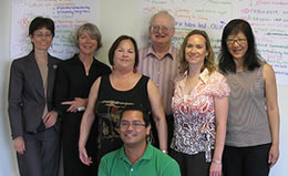 BayNet Strategic Planning 2008. Andrea is second from left.