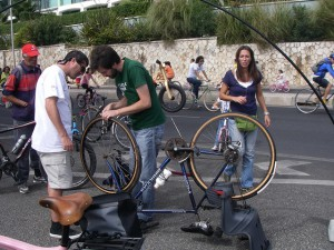 Bicycle repair photograph