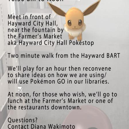 July 2016 – BayNet -San Francisco Bay Area Library & Information Network